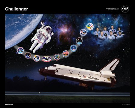 Challenger tribute