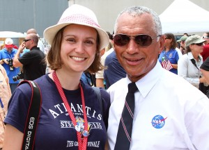 Kate Arkless Gray and Charles Bolden