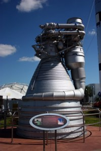 FI Rocket Engine and Nozzle at KSCVC