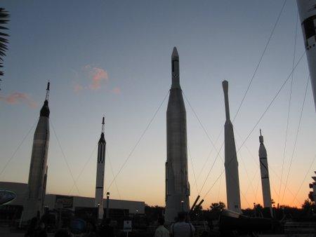 Rocket Garden at KSCVC