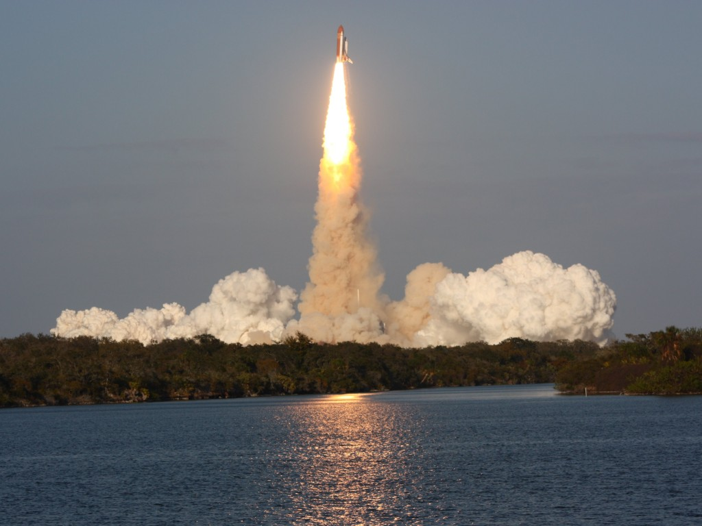 Discovery's final launch - STS-133